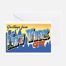 New York City Greetings Greeting Card