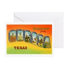 Odessa Texas Greetings Greeting Card