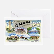 Omaha Nebraska Greeting Card