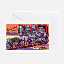 Palm Springs California Greet Greeting Card
