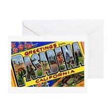 Pasadena California Greetings Greeting Cards (Pk o