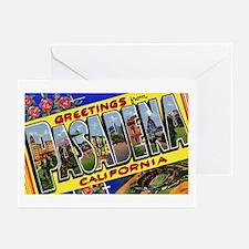 Pasadena California Greetings Greeting Cards (Pk o