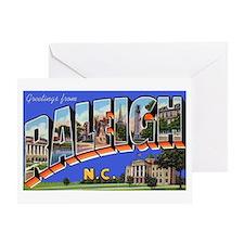 Raleigh North Carolina Greeti Greeting Card