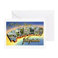 Richmond Virginia Greetings Greeting Card
