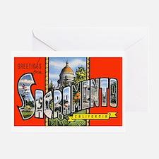 Sacramento California Greetin Greeting Card