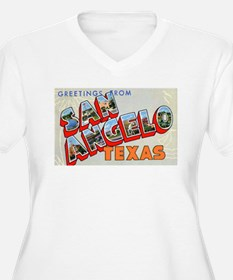 San Angelo Texas Greetings T-Shirt