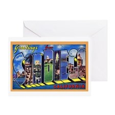 San Diego California Greeting Greeting Card