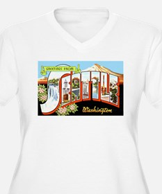 Seattle Washington Greetings T-Shirt