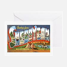 Sheboygan Wisconsin Greetings Greeting Card