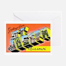 St. Joseph Missouri Greetings Greeting Card