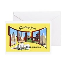 Tulsa Okahoma Greetings Greeting Card