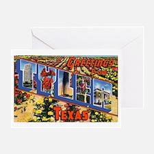 Tyler Texas Greetings Greeting Card