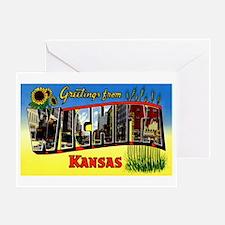 Wichita Kansas Greetings Greeting Card