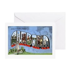 Alabama Greetings Greeting Card