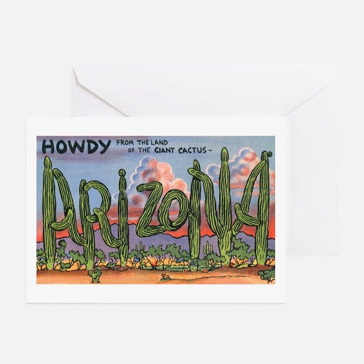 Arizona Greetings Greeting Cards (Pk of 20)