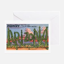 Arizona Greetings Greeting Card