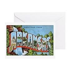 Arkansas Greetings Greeting Card