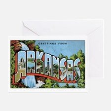 Arkansas Greetings Greeting Card