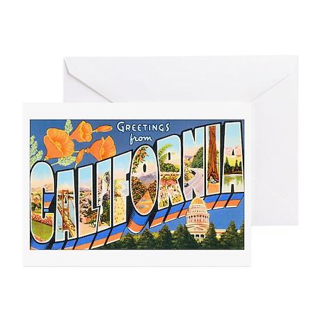 California Greetings Greeting Cards (Pk of 20)