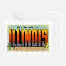 Illinois Greetings Greeting Card