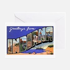 Indiana Greetings Greeting Card