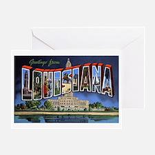 Louisiana Greetings Greeting Card