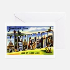 Minnesota Greetings Greeting Cards (Pk of 20)