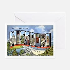 Missouri Greetings Greeting Card