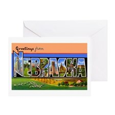 Nebraska Greetings Greeting Card