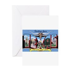 Texas Greetings Greeting Card
