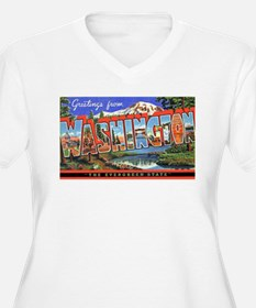 Washington State Greetings T-Shirt