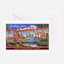 Washington State Greetings Greeting Card