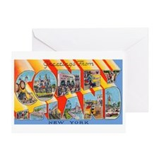 Coney Island New York Greeting Card