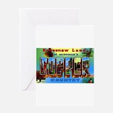 Copper Country Michigan Greeting Card