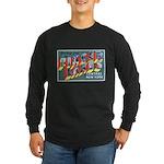 Finger Lakes New York Long Sleeve Dark T-Shirt