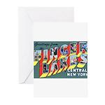 Finger Lakes New York Greeting Cards (Pk of 20)