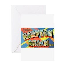Hampton Beach New Hampshire Greeting Card