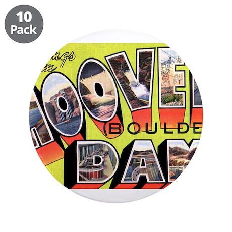 "Hoover Boulder Dam 3.5"" Button (10 pack)"