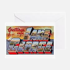 Lake George Greetings Greeting Card