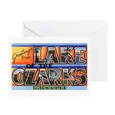Lake of the Ozarks Missouri Greeting Cards (Pk of