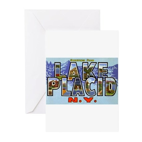 Lake Placid New York Greeting Cards (Pk of 20)