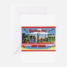 Long Island New York Greeting Greeting Card