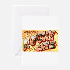 Rocky Mountains Greetings Greeting Card