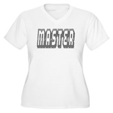 MASTER-GREY THICK OUTLINE T-Shirt