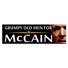 Grumpy Old Men Bumper Bumper Sticker