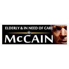 Elderly & in Need of Care Bumper Bumper Sticker
