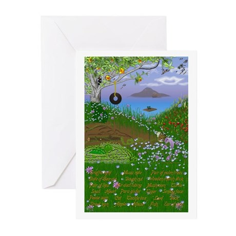 Hidden Objects/Nature Greeting Cards (Pk of 10)