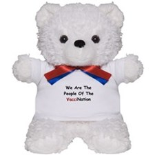 People Of VacciNation Teddy Bear