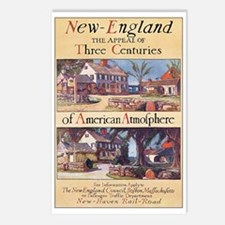 New England Postcards (Package of 8)