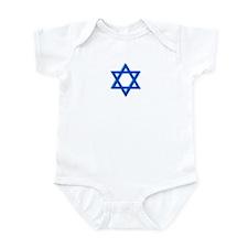 Magen David Infant Bodysuit